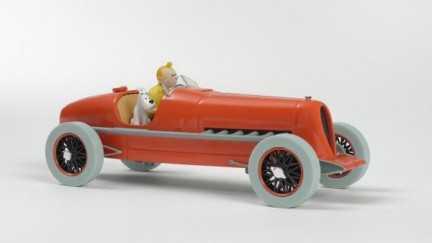 Kuifje auto 01 - Snelle...