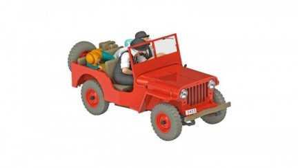 Kuifje auto 06 - De rode jeep