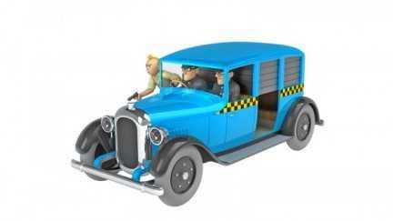 Kuifje auto 07 - De taxi...