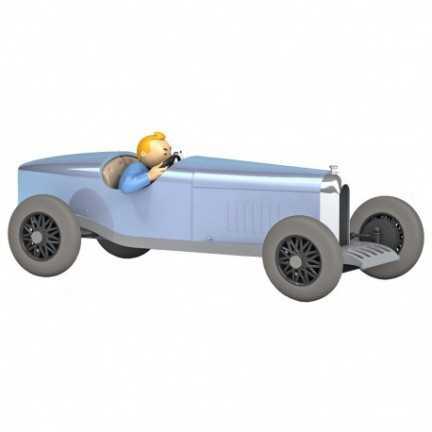 Kuifje auto 09 - De blauwe...