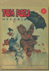 Tom Poes weekblad - Facsimile bundel